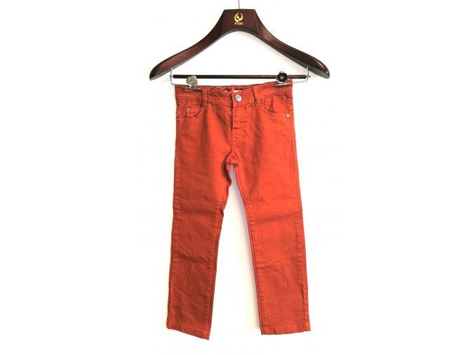 Dětské kalhoty Marese cihlové (Velikost 160)