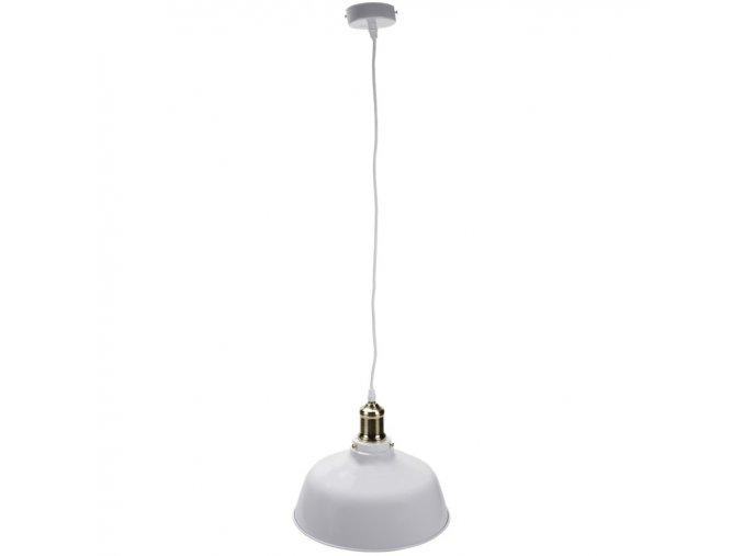 Závěsná kovová lampa Aurosens (Barva černá)