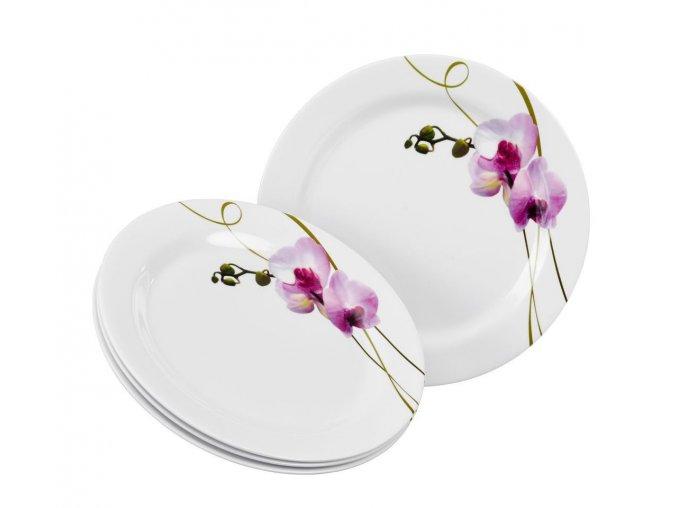 14081 melaminove misky orchidea 4ks