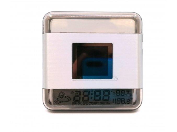 14354 2 mini digitalni fotoramecek s hodinami a predpovedi pocasi