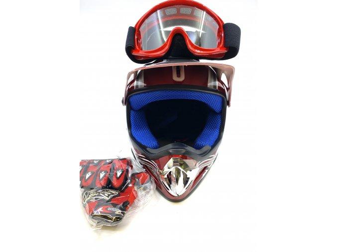 14537 helma na sjezdove kole bryle a rukavice s