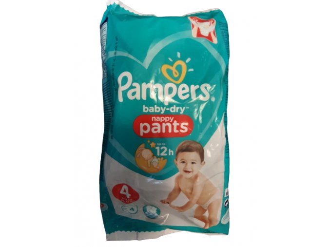 15104 pampers baby pants active 4 9 15kg 4ks