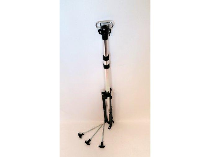 15350 univerzalni teleskopicky stativ s kolicky do zeme