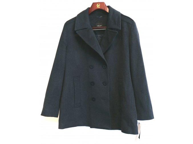 Značkový dámský kabát Carlo Cecci-Wales, tmavě modrá