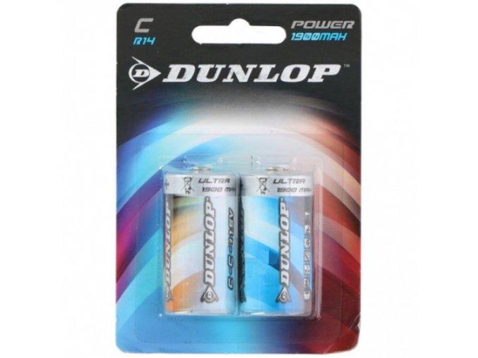 dunlop batterijen r14 c zink 2 stuks 248248