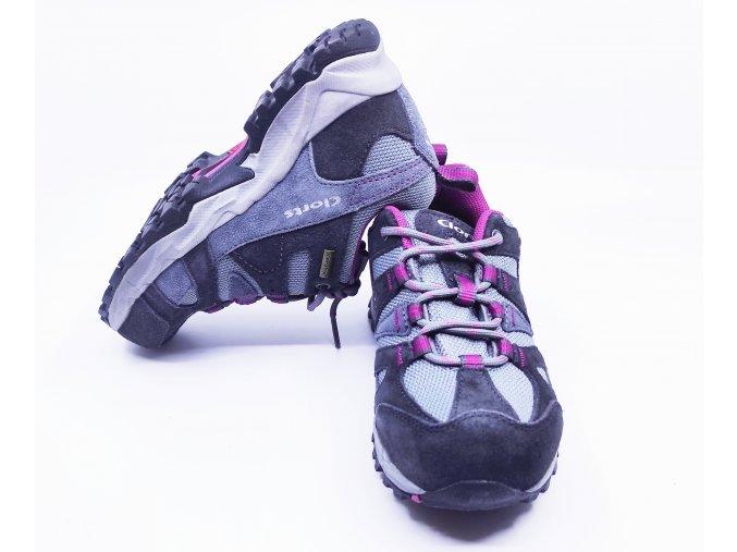 Dětské multifunkční boty Clorts šedo-fialové