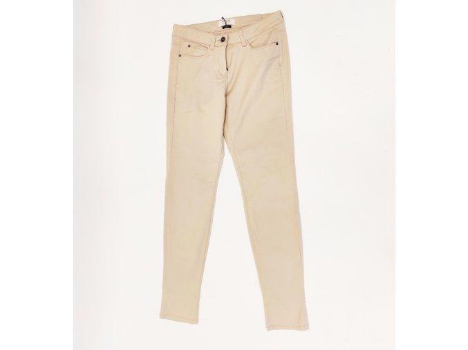 Dámské slim fit kalhoty Sandwich béžové