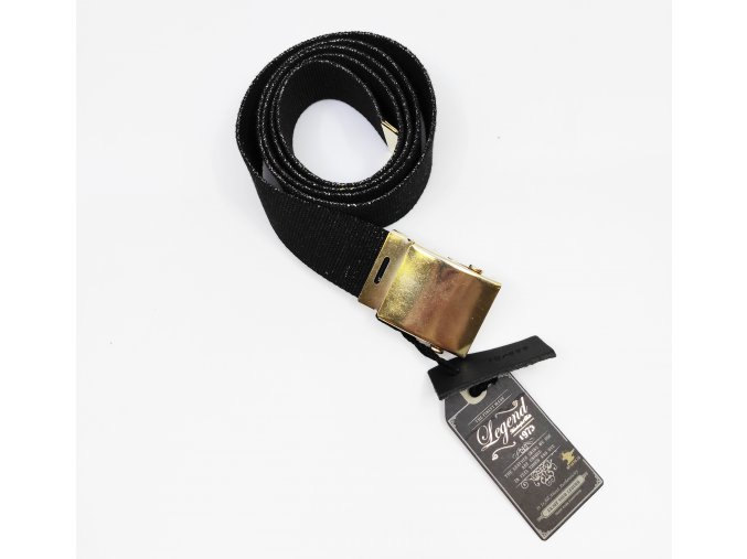 Dámský pásek se zlatou přezkou Genuine