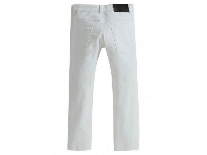 JEANS, dívčí kalhoty bílé