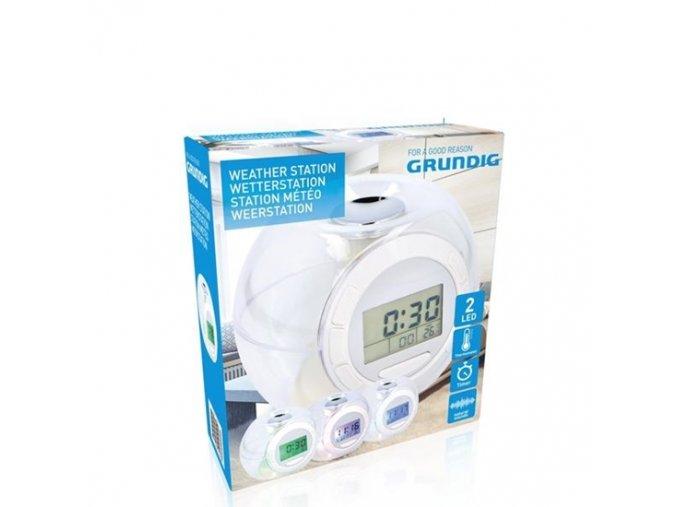 0034641 grundig alarm clock 2leds ab 105x8x105cm 550