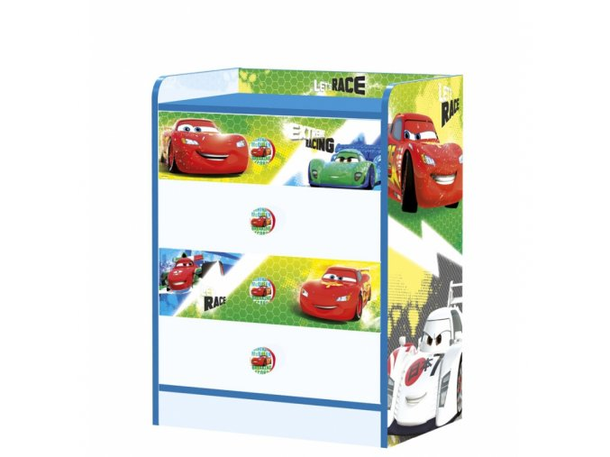 disney drawers chest cars racers