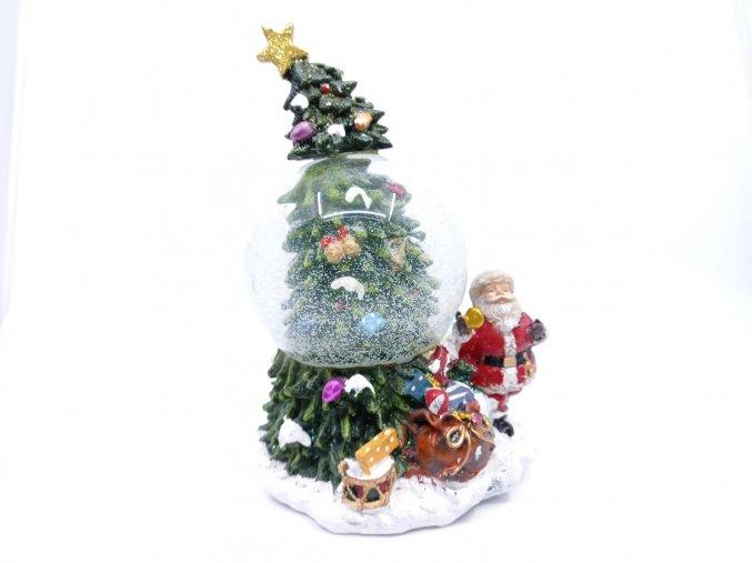 Vánoční těžítko/hrací skříňka