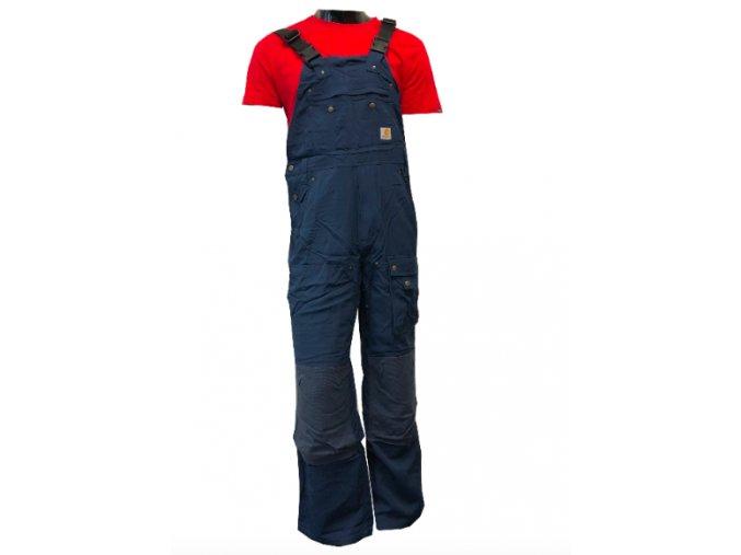Pracovní laclové kalhoty Duck Big Overall Blue Carhartt