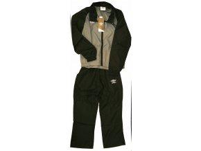 UMBRO woven suit- chlapecká souprava černo/šedá vel. 134
