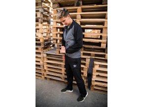 Umbro woven suit lined prima- Pánská šusťáková souprava šedočerná