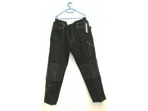 RAW radical work wear- černé pracovní kalhoty (Velikost XXL)