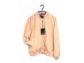 Blue Flame- jarní dámská bunda starorůžová barva (Velikost 44)