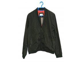 Grey stone- pánská jarní šusťáková bunda černá (Velikost M)