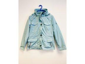 Dámská jarní bunda - světle modrá Blue flame (Velikost 48)