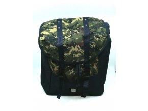 BENCH - outdoorový batoh tm. modrá/maskáč