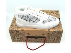 Pánské boty sneakers parisiennes SIXTY JUNE bílo šedé (velikosti 44)