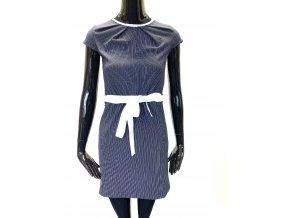 Dámské šaty Conceptela - tamvě modré (Velikost S/M)
