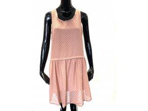 Dámské šaty Andy & Lucy Paris - růžová (Velikost S)