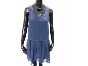 Dámské šaty Andy & Lucy Paris - modré (Velikost S)
