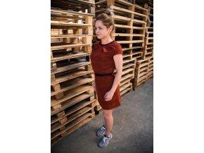 Dámské šaty Conceptela - cihlová