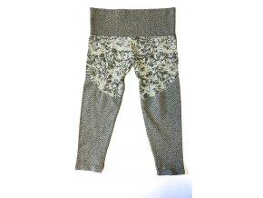 Dámské sportovní legíny Climawear šedé (Velikost S)