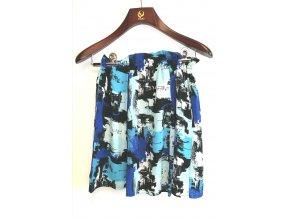 Dámská sukně Vintage boutique modrá (Velikost 42)