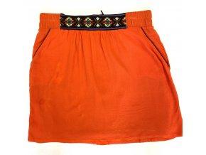 Dámská sukně Season oranžová (Velikost S)