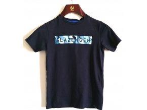 Dětské triko Slezenger tmavě modré (Velikost 9-10)