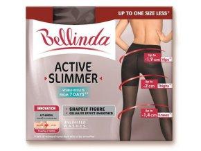 Zeštíhlující punčocháče Bellinda Active Slimmer Tights - černé (Velikost S)