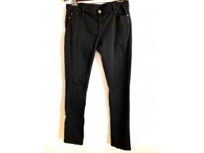 Dámské, dívčí slim jeans Aguaverde černé (Velikost 34)