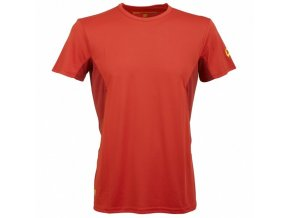 trekking t shirt rock experience ambit man red