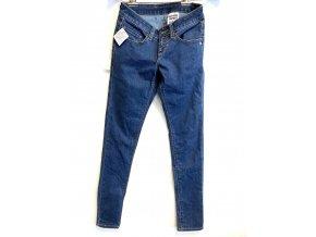 Dámské rovné džíny Monkee Genes modré (Velikost 29)