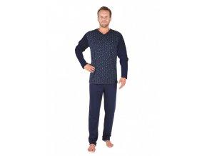 Pánské pyžamo EVONA (Charlotte Reid Šedé kostky XL)