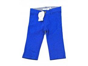 Dětské kalhoty Marése modré s hvězdičkami (Velikost 74)