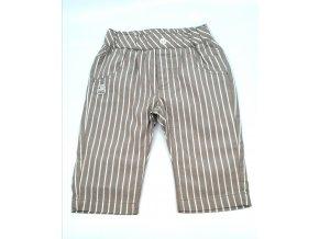Dětské kalhoty IDO světlehnědé s proužky (Velikost 80-86)