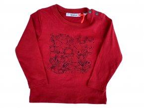triko cervene
