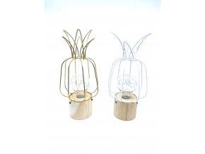 Dekorační světlo ananas (Barva zlatá)