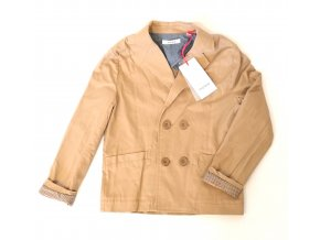 Dětský kabátek/sáčko - béžový (Velikost 86)