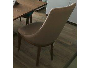 21. čalouněná jídelní židle krémová 1
