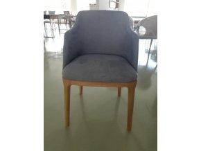 Designová čalouněná židle/křesílko Bavio různé barvy