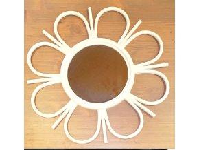 Zrcadlo ve tvaru květiny (Barva černá)