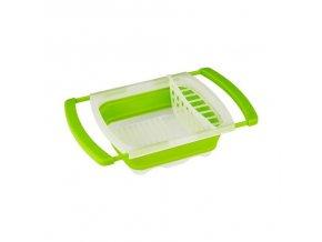 Skládací závěsný odkapávač nádobí