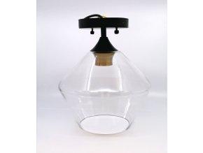 15299 1 designove stropni svitidlo kov sklo