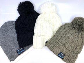 Bluetooth Music Soft Beanie Hat se stereofonním reproduktorem pro sluchátka Bezdrátový SUNG-LL®