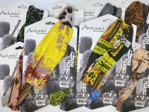 Multifunkční šátek Antonio / vice barevných kombinací